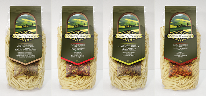 Sampling of our pasta kits