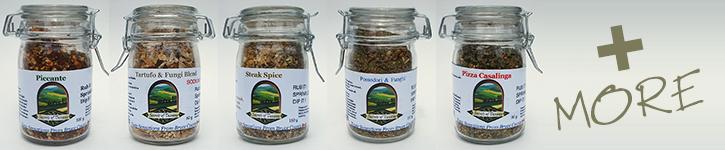 Sampling of our spice jars